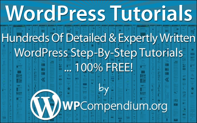 WordPress Tutorials WPCompendium