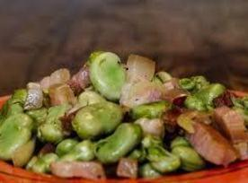Dicke Bohnen Mit Speck (broad Beans With Bacon) Recipe
