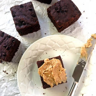 Cakey Chocolate Chip Brownies.