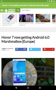 andNews: Android News- screenshot thumbnail