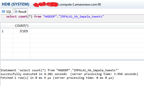 Smart Data Access with HADOOP HIVE & IMPALA | SAP Blogs