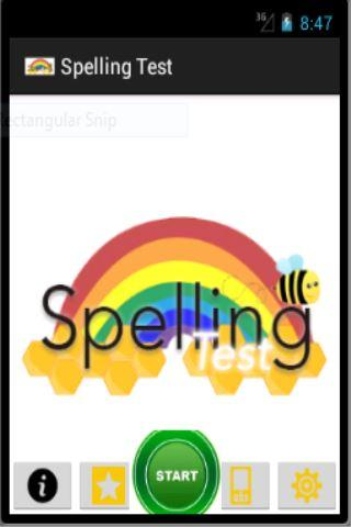 Spelling Test for Kids
