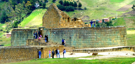 Photo: Main Inca structure, thought to have been a temple