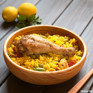 One-Pot Chicken Paella.