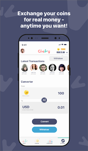 Earn money for Free with Givvy! 8.1 screenshots 1