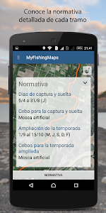 My Fishing Maps-Mapas de Pesca screenshot 5