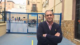 Luis López Morales es el director de SAFA Almería desde hace doce años.
