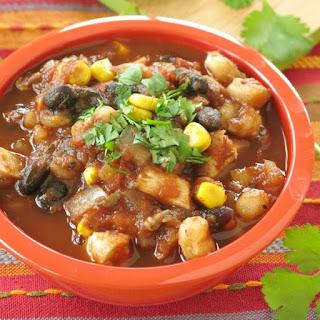 Easy Chicken Tortilla Soup.