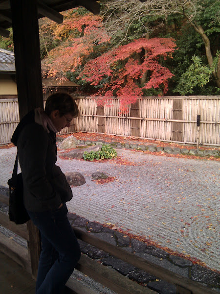 Photo: Kyoto autumn zen + Obi
