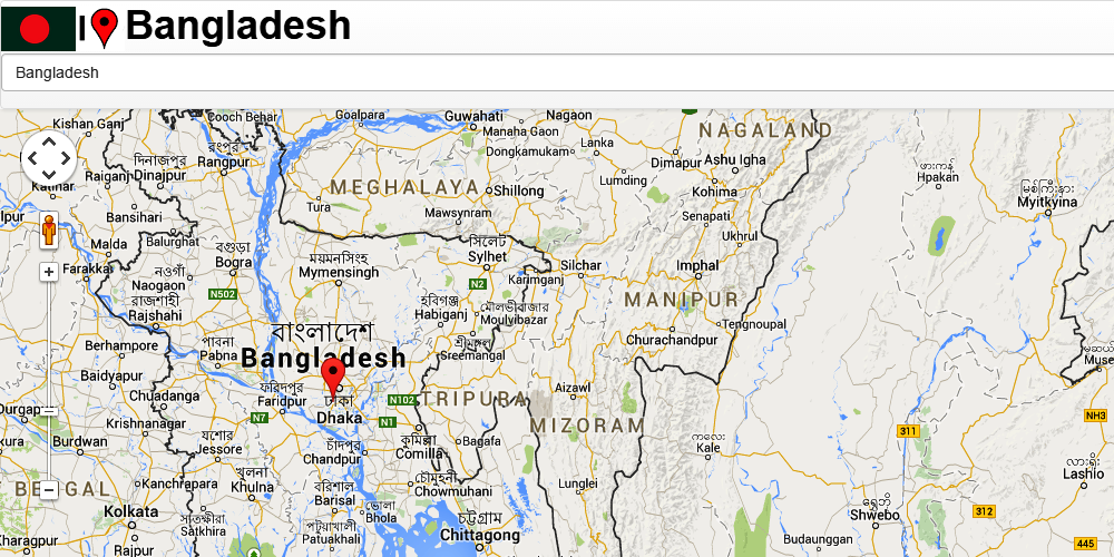 Mymensingh Map Android Apps On Google Play - Balurghat map