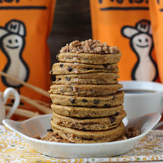 Pumpkin Crumb Pancakes with Nuts.com