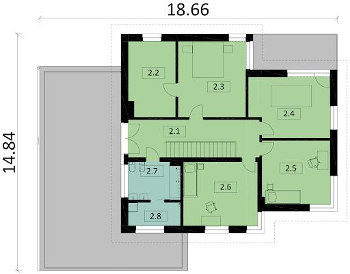 Ka20 - Rzut piętra