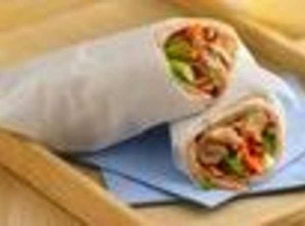 Slow Cooker Teriyaki-sesame-chicken Wraps Recipe