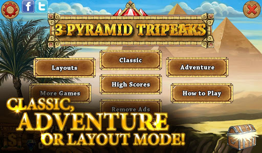 3 Pyramid Tripeaks Solitaire - Free Card Game apkmr screenshots 7