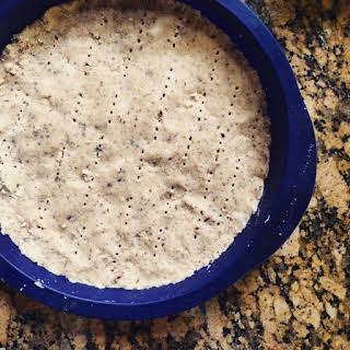 Vegan Keto Shortbread Pie Crust.