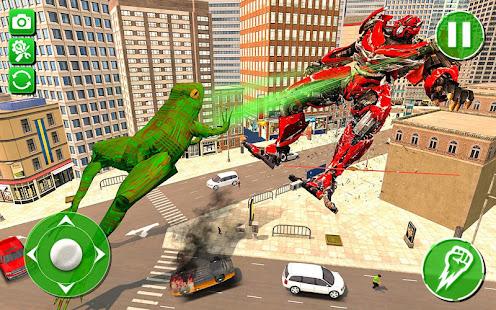 Frog Robot Transformation Simulator for PC-Windows 7,8,10 and Mac apk screenshot 1