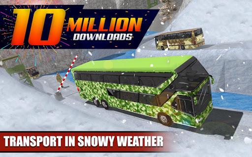 Army Bus Driver 2020: Real Military Bus Simulator apktram screenshots 1