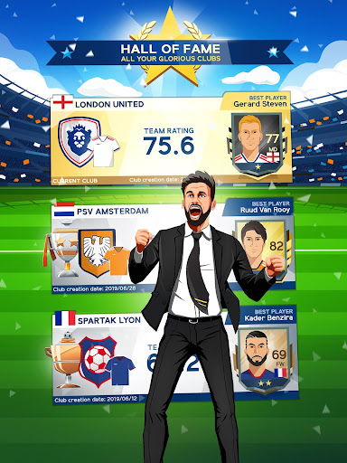 Idle Eleven - Be a millionaire soccer tycoon apkpoly screenshots 12