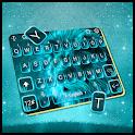 Blue Glow Lion Keyboard Theme icon