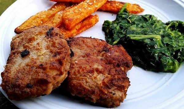 ~ Marinated Quick Fried Pork Medallions ~