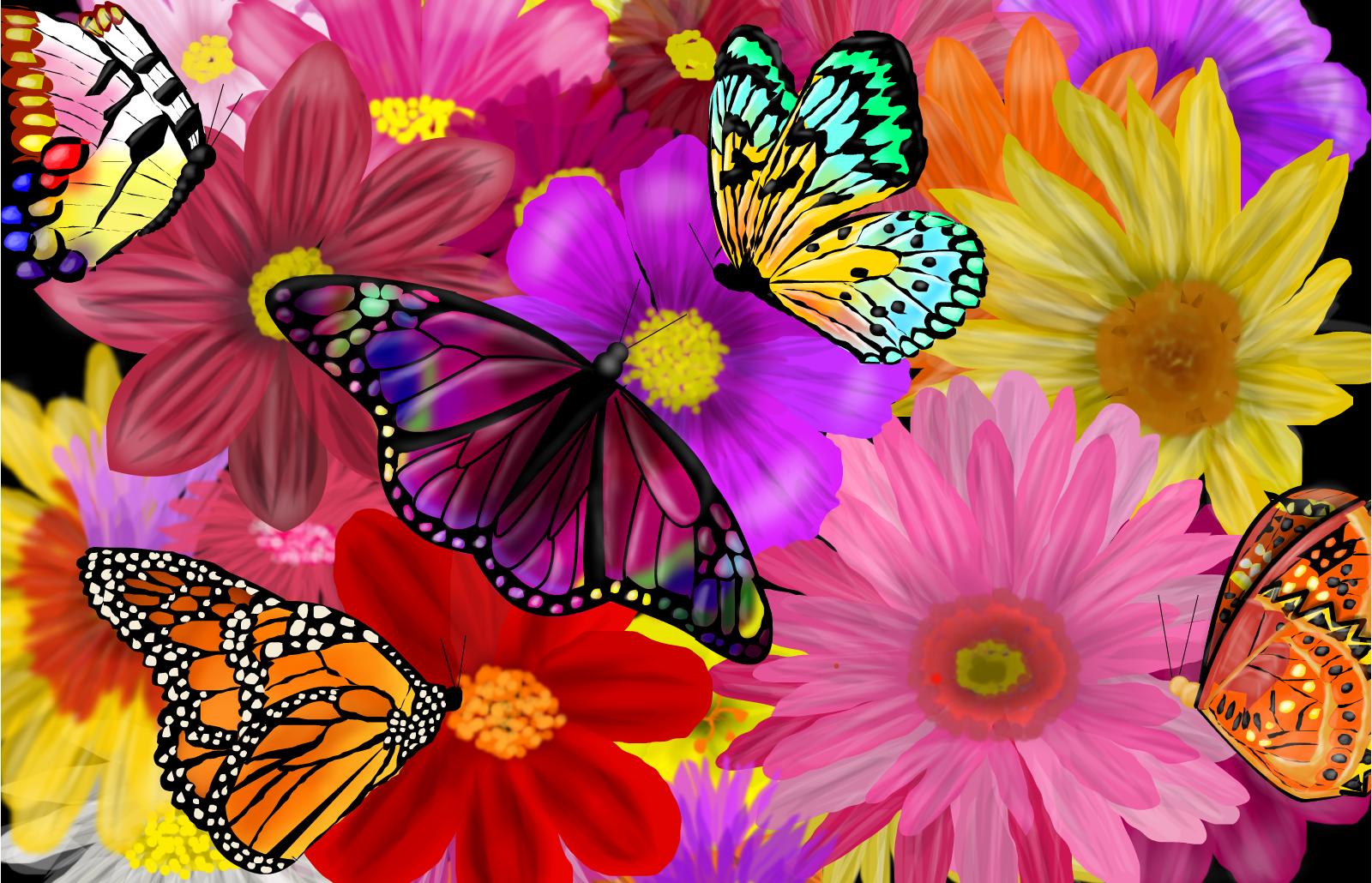 anxiety symptoms - butterflies