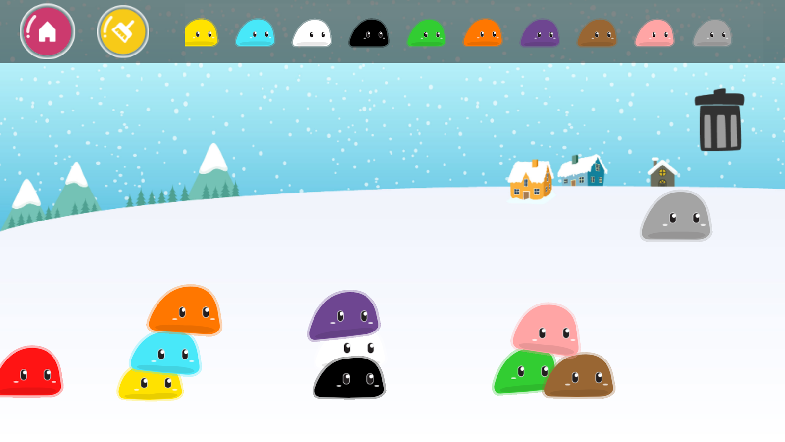 Kidi Frozen Jelly- screenshot
