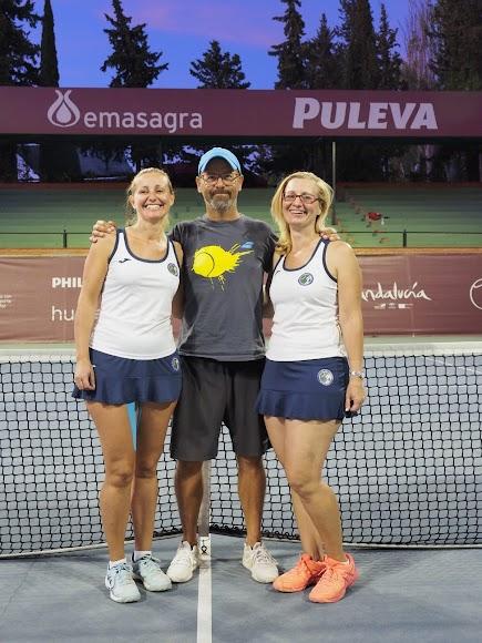 El tenis, su pasión.