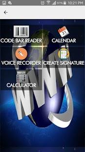 QR Code Reader Scanner Android - náhled