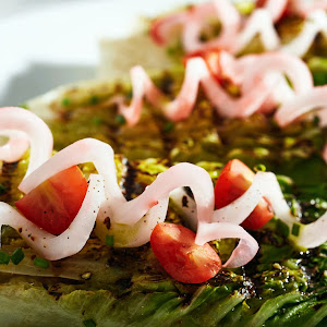 Grilled Wedge Minis with Green Goddess