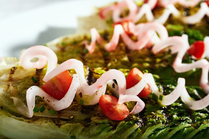 Grilled Wedge Minis with Green Goddess Recipe