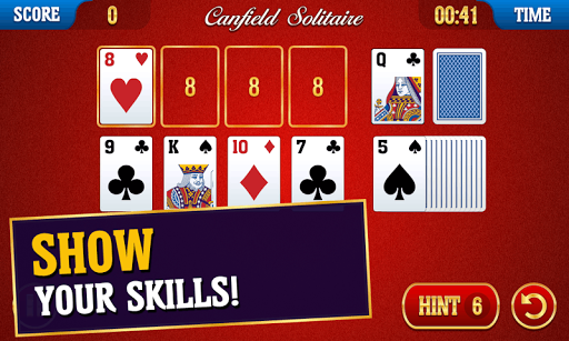 Canfield Solitaire apkpoly screenshots 2
