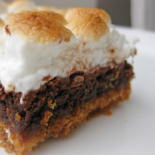 Marshmallow Graham Cracker Brownies Recipes