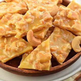 Cashew Brittle.