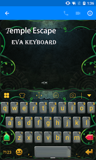 Temple Keyboard -Emoticons Gif