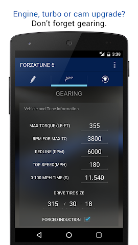 android ForzaTune 6 Screenshot 3