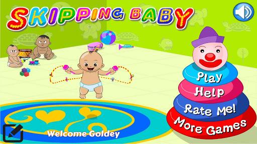 Skipping Baby Jump