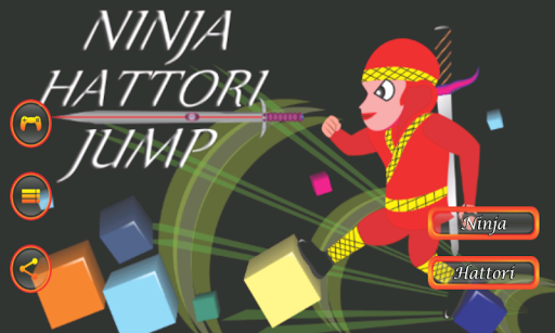 Ninja Hattori Jump