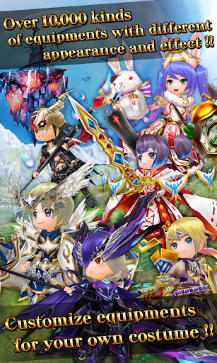 RPG Elemental Knights R (MMO)  screenshots 2