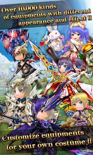 RPG Elemental Knights R (MMO) Screenshot