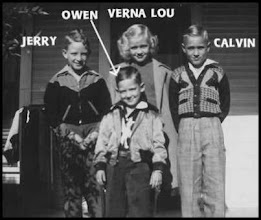 Photo: Jerry, Owen, Verna Lou & Calvin Davis