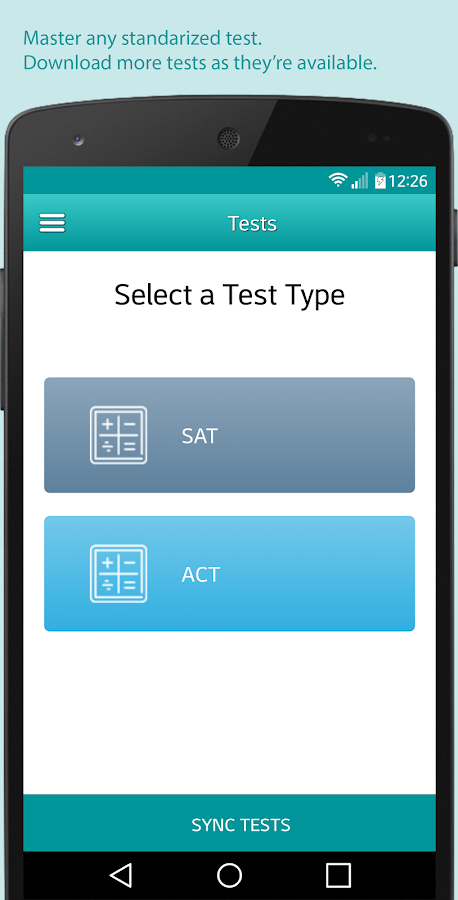 📚 Test Me! Master SAT, ACT, TOEFL and IELTS exams- screenshot