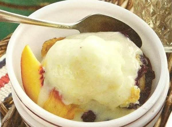 Out Of This World Summer Fruit Cobbler