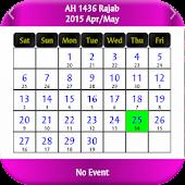 Hijri Calendar /Lunar Calendar