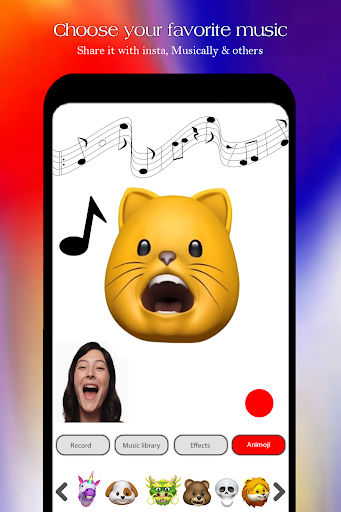 Free Animojis Karaoke & emojis  2018 for PC