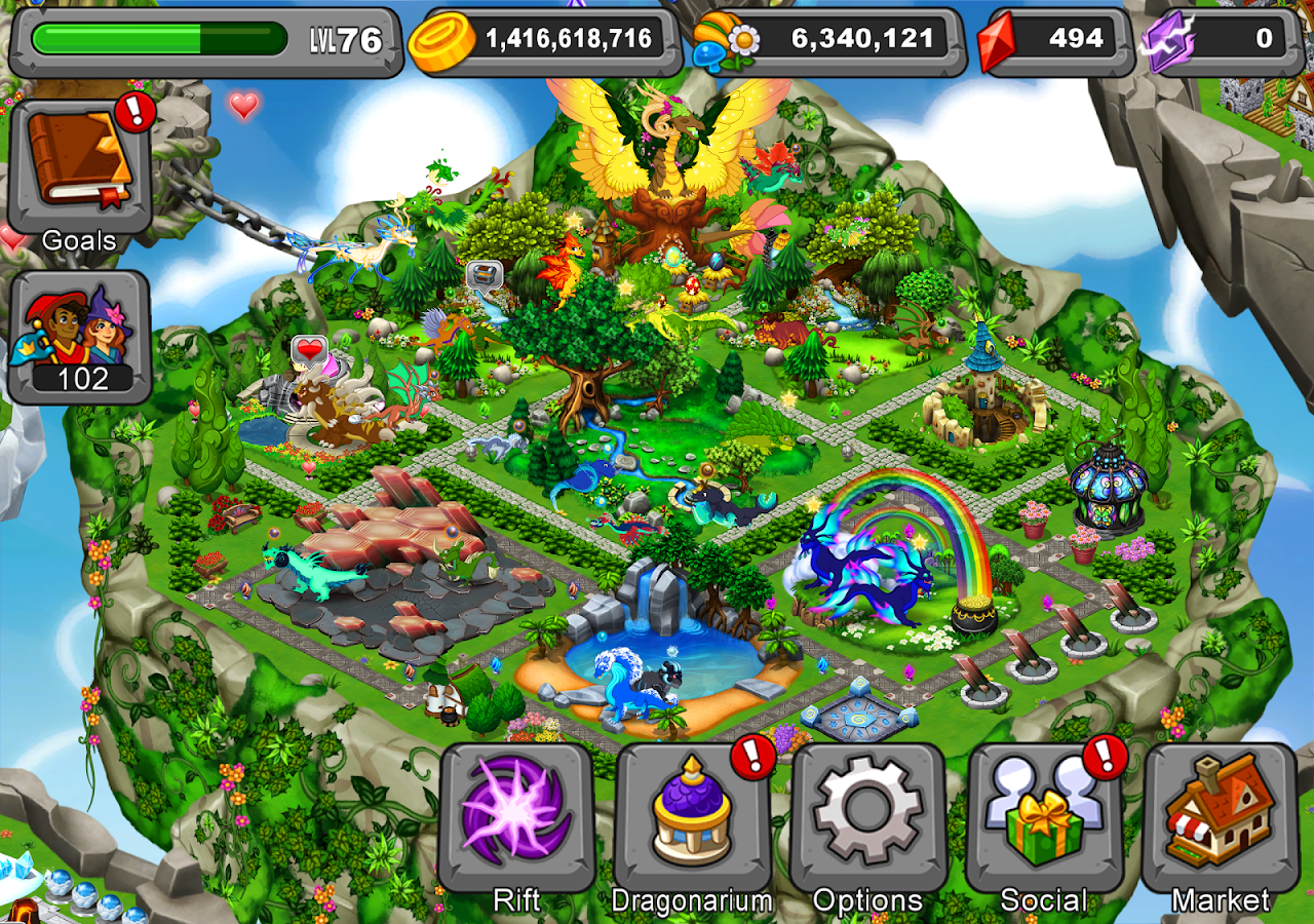 DragonVale- screenshot