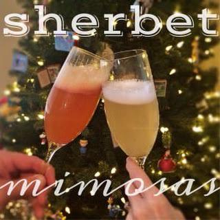 Sherbet Mimosas