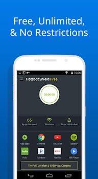 Free VPN -Hotspot Shield Basic