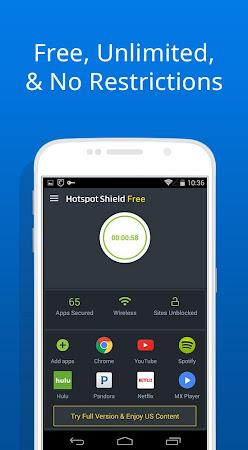 Free VPN -Hotspot Shield Basic 4.8.5 screenshot 630487