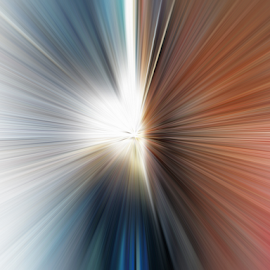 rays by Edward Gold - Abstract Patterns ( spectrum of color, abstract art, rays of light, colorful,  )