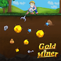 Gold Miner Plus - Bearded old miner icon